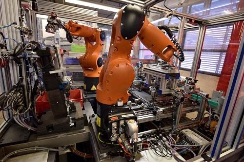 Automatisation du soudage TIG par robot
